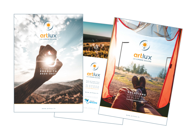 3 catalogues artlux